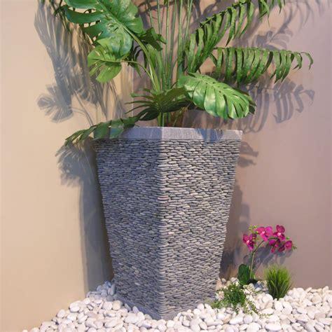pot jardin design pots fleurs bacs jardinieres elegants accueil design et mobilier