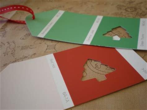 savvy housekeeping 187 child diy gift idea a fun and frugal savvy housekeeping 187 gift tag from paint chips