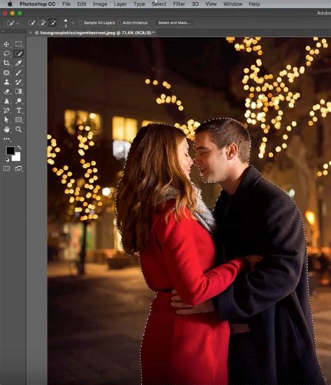 photoshop blur background how to create bokeh background blur to a photo in