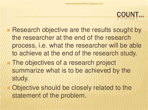 statement of objectives in research statement of objectives in research 28 images general