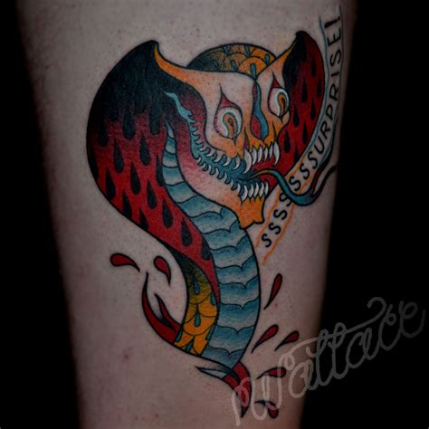 cobra tattoos the gallery for gt cobra skeleton