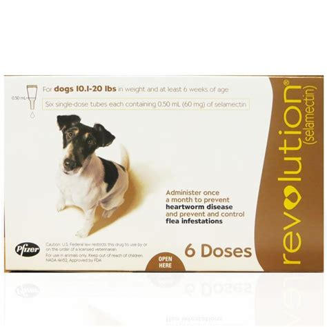 heartworm revolution dogs for revolution 6 month supply for dogs revolution flea and tick