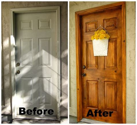Faux Wood Interior Doors Best 25 Painted Exterior Doors Ideas On
