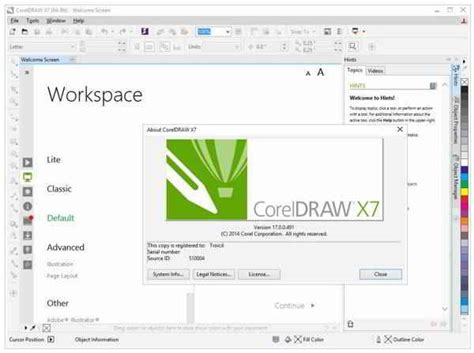 corel draw x7 znak wodny free download coreldraw x7 full version desain grafis