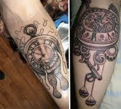 clock tattoos and designs clock tattoo meanings clock
