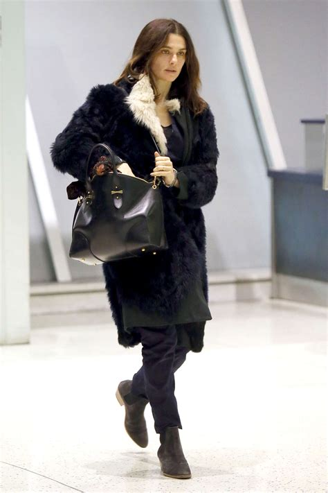 Weisz Rumored To Be In City 2 by Weisz Arrives At Jfk Airport 03 Gotceleb