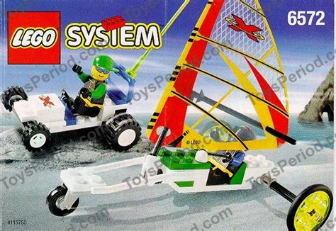 L 6572 P Da lego 6572 wind runners set parts inventory and