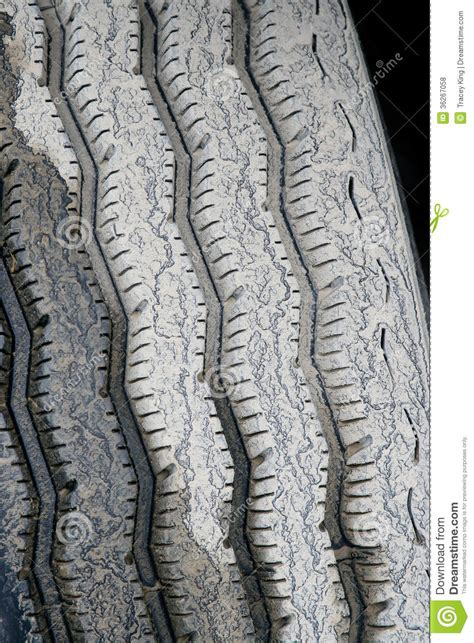 muddy truck tire tread royalty  stock  image