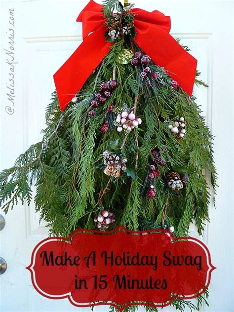 how to make xmas cedar swags pioneer how to make an evergreen swag k norris