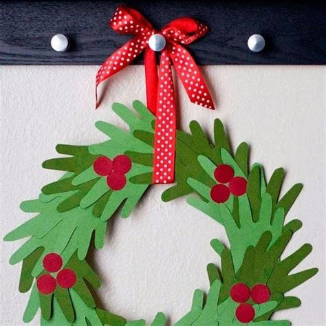 handprint christmas crafts  kids parenting