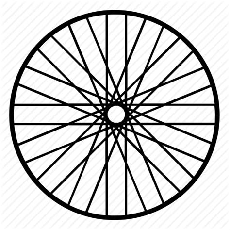 Bicycle Wheel Outline by Bicycle Bike Cycle Cycling Sport Wheel Icon Icon Search Engine