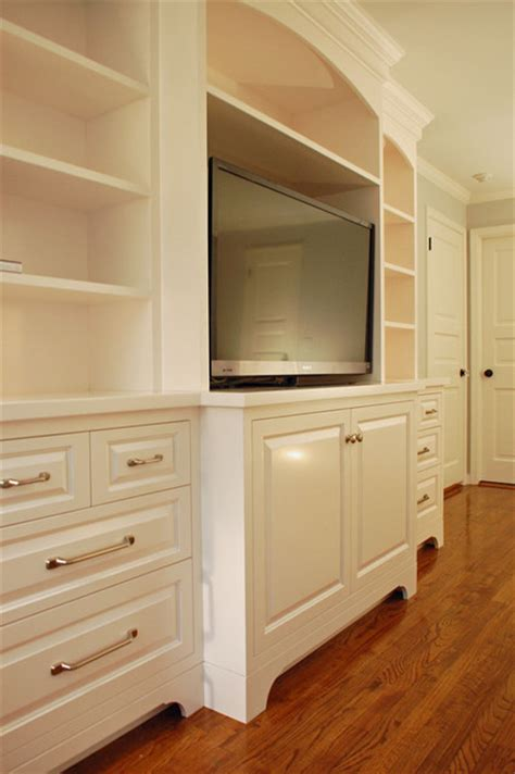 Bedroom Media Centers Classic Bedroom Entertainment Center Traditional