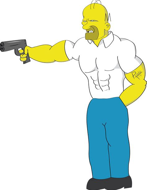 imagenes para dibujar homer mi version de homero simpson pablo arroyo