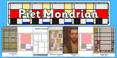 piet mondrian inspiration piet mondrian artist inspiration