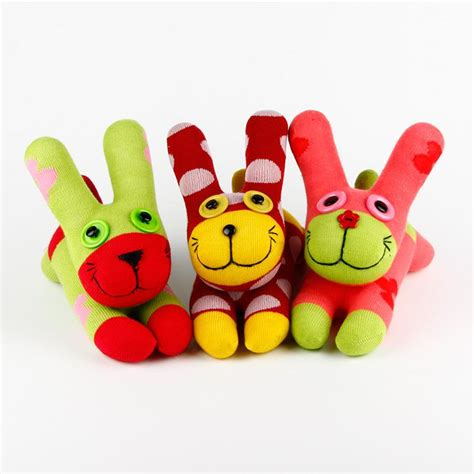 Handmade Toddler Toys - 2018 handmade baby toys sock bunny rabbit 055 stuffed