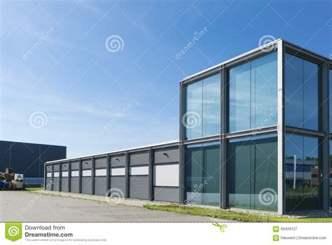 modern industrial building stock image image  business