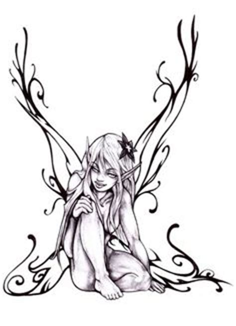 dark fairy drawings to color more from deviantart