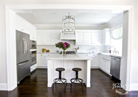 u shaped kitchens with islands industrial counter stools square island square kitchen