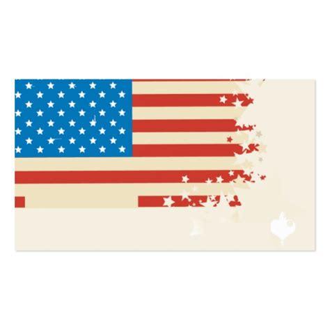 flag card template modern us flag business card template zazzle