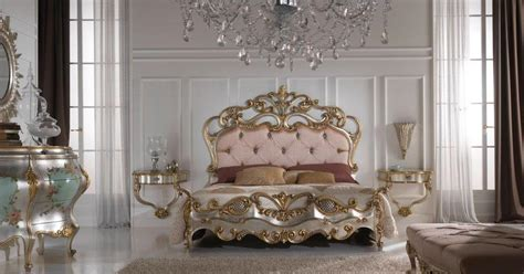 187 gold and silver gold leaf bedroom furnituretop and best italian classic furniture