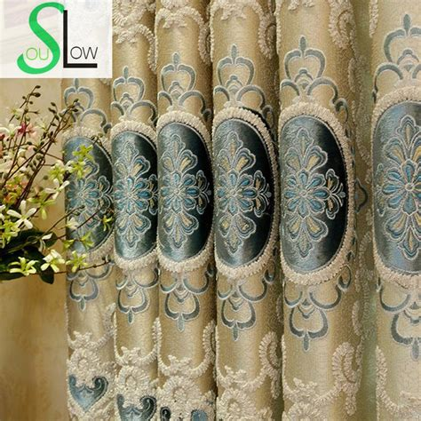 Blue And Gold Valance Popular Blue Gold Curtains Buy Cheap Blue Gold Curtains
