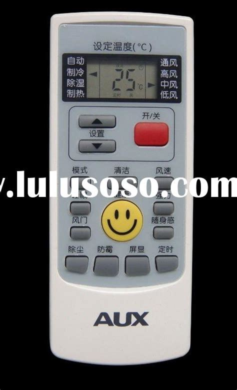 Remote Ac Aux codes for any command universal air conditioner remote