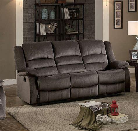 homelegance reclining sofa homelegance jarita reclining sofa chocolate