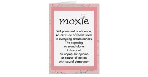 E Gift Card Definition - moxie definition card zazzle