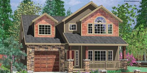 house plans for narrow lots with front garage narrow lot house plans with front garage ideas for 2017