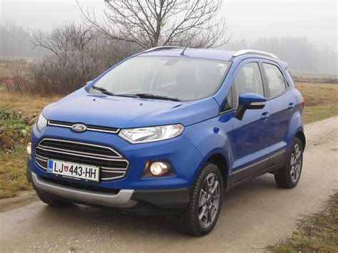 Lu Mobil Ford Ecosport Test Ford Ecosport 1 0 Ecoboost Titanium Amzs