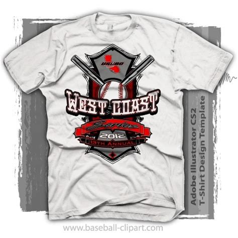 Baseball Shirt Designs Template easy to edit baseball tournament shirt design template