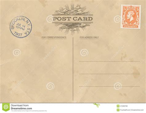 free downloadable postcard templates vintage postcard template letters from home