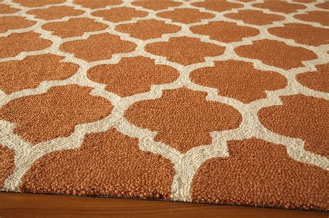 orange patterned rug district17 orange geo lattice rug patterned rugs