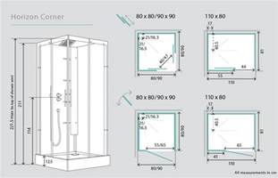 kinedo horizon corner watertight pivot door shower cubicle