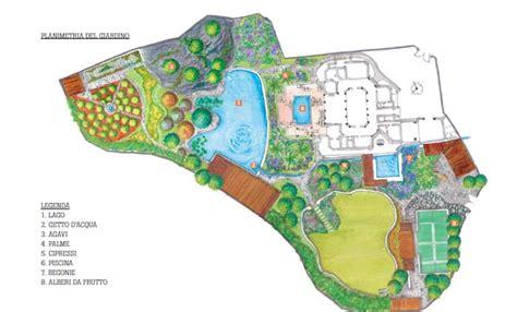 planimetria giardino progetto insolito in un giardino azteco ville casali
