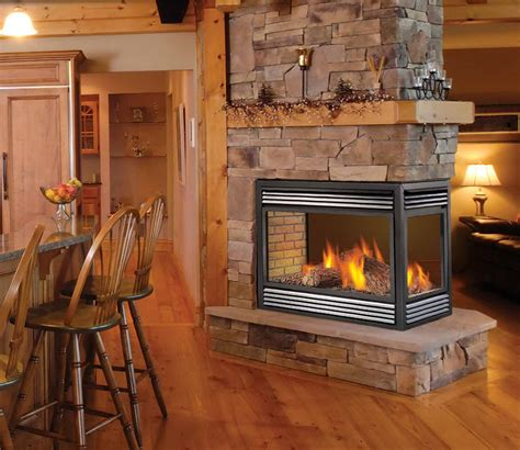Sided Gas Log Fireplace by 3 Sided Gas Fireplace Logs Home Design Ideas