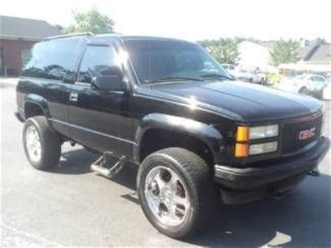how can i learn about cars 1996 gmc 2500 on board diagnostic system buy used 1996 gmc yukon gt 4x4 2dr lifted rare suv old so bid now won t last in ga in