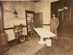 Home Interior Ebay Antique C1910 Black Owned Funeral Home Mortuary Interior