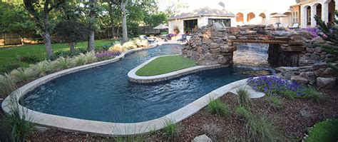 one end of pool with lazy river backyard oasis what happens when your pool project goes viral aqua