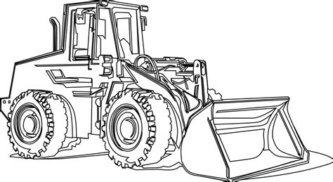Free Excavators Coloring Pages Construction Equipment Coloring Pages