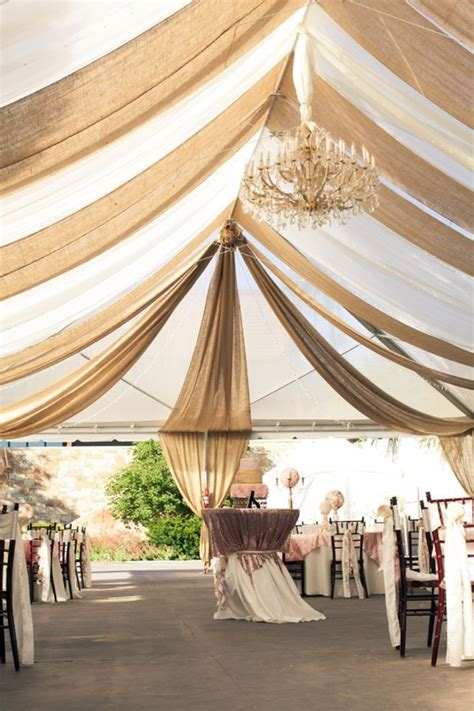30 chic wedding tent decoration ideas burlap weddings