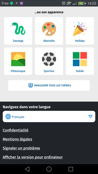 complete themes firefox android la face cach 233 e de firefox pour android je th 232 me