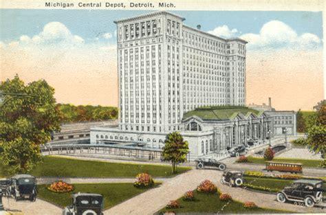 Home Depot Cadillac Michigan by Michigan Central Depot Hekman Digital Archive