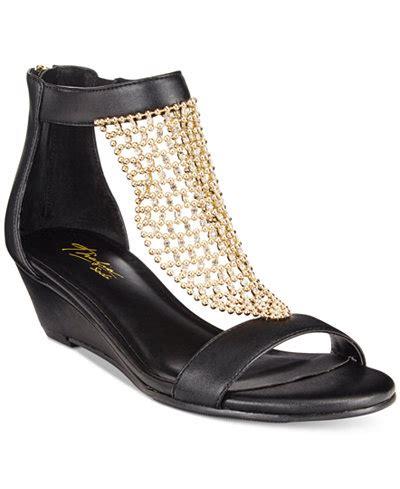 Thalia Wedges 9cm 1 thalia sodi tibby mesh embellished wedge sandals created
