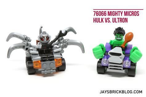 Lego Marvel 76066 Mighty Micros Vs Ultron Heroes review lego marvel mighty micros 76064 76065 76066