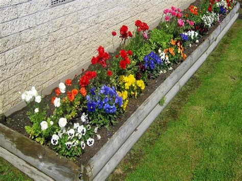 Flower Bed Ideas Small Fall Garden Gardening Design Co Fall Flower Garden Ideas