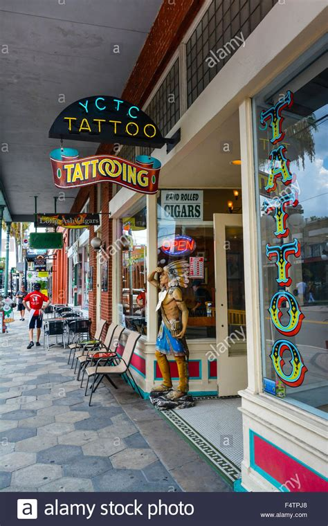 ybor city tattoo company the ybor city company storefront in ybor city fl