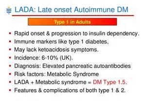 Diabetes Lada Pathology Of Diabetes