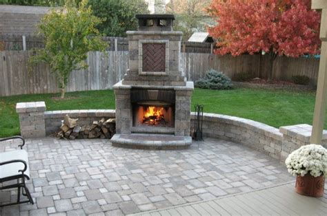 outdoor fireplace designs for everyone