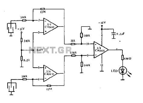 Multi Level Water Level Detector liquid sensor circuit page 2 sensors detectors circuits